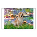 Lililes (#2)-Golden 10 Sticker (Rectangle 10 pk)
