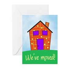 We've Moved Greeting Cards (Pk of 10)