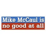 Congressman Mike McCaul bumper sticker