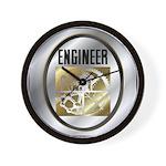Engineers Wall Clock