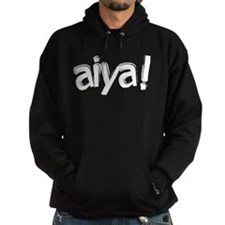 aiya! Hooded Sweatshirt (Dark)