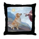 God's Golden (#11) Throw Pillow
