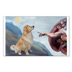 God's Golden (#11) Sticker (Rectangle 10 pk)