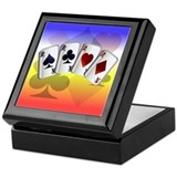 Four Aces Keepsake Box