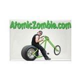 AtomicZombie.com Rectangle Magnet