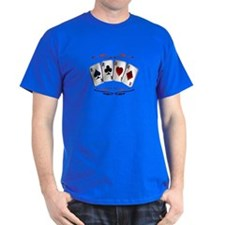 Aces with design T-Shirt