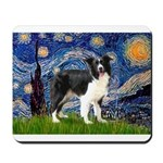 Starry / Border Collie (Z) Mousepad