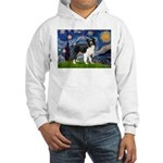 Starry / Border Collie (Z) Hooded Sweatshirt