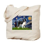 Starry / Border Collie (Z) Tote Bag