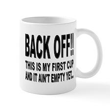 """""""BACK OFF"""" Mug"""