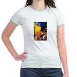 Cafe / Border Collie (Z) Jr. Ringer T-Shirt