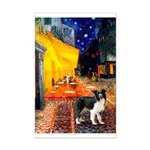 Cafe / Border Collie (Z) Mini Poster Print