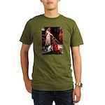 Accolade/Border Collie (Z) Organic Men's T-Shirt (