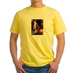Accolade/Border Collie (Z) Yellow T-Shirt