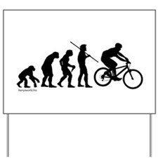 Bike Evolution Yard Sign