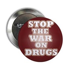 """Stop the War on Drugs 2.25"""" Button (100 pack)"""