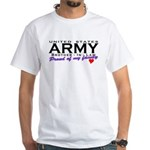 US Army Brother-In-Law White T-Shirt