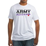 US Army Brother-In-Law Fitted T-Shirt