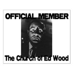 Church of Ed Wood Small Poster