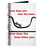Some Days the Bear Bites You Journal