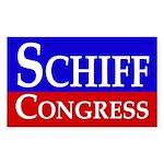 Re-Elect Adam Schiff Bumper Sticker