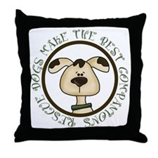 Rescue Dogs Throw Pillow