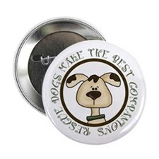 "Rescue Dogs 2.25"" Button (100 pack)"