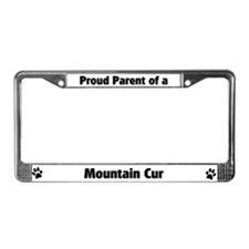 Proud: Mountain Cur  License Plate Frame