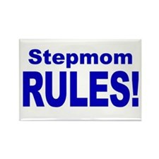 Stepmom Rules! Rectangle Magnet (10 pack)