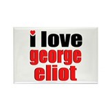 George Eliot Rectangle Magnet (10 pack)