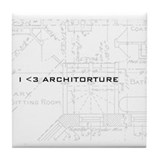 Architorture Tile Coaster