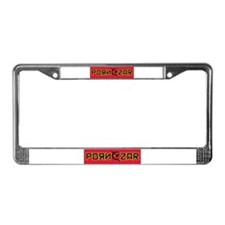 Porn Czar Gear License Plate Frame