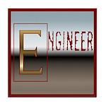 Engineer 2 Tile Coaster