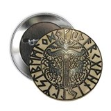 Futhark &amp; Irminsul 2.25&quot; Button
