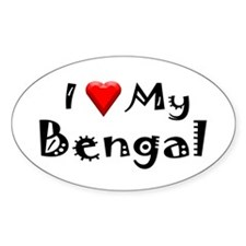 Bengal Oval Decal