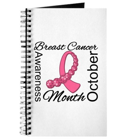 Breast Cancer Month Gemstone Journal