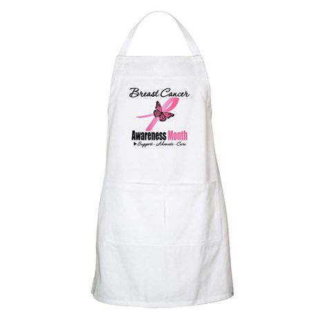 Breast Cancer Month Support BBQ Apron