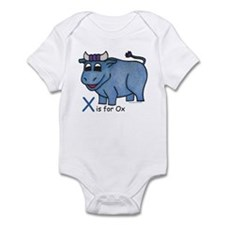 X is for Ox Infant Bodysuit
