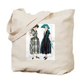 A Chic French Duet Tote Bag