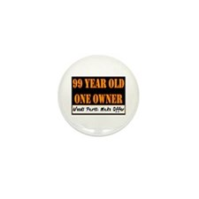 99th Birthday Mini Button (10 pack)