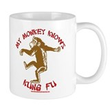 Kung Fu Monkey Small Mug
