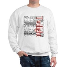 Movie Twilight Quotes Gifts Sweatshirt