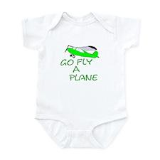 funny airplane Infant Bodysuit