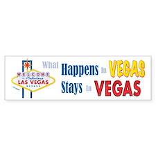 Vegas Bumper Bumper Sticker