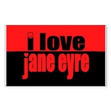 Jane Eyre Rectangle Sticker 10 pk)