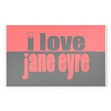 Jane Eyre Rectangle Sticker 50 pk)