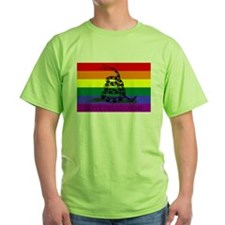 Rainbow Gadsden Flag T-Shirt