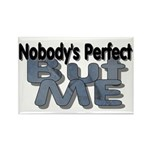 Nobody's Perfect Rectangle Magnet (100 pack)