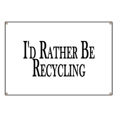 Rather Recycle Banner