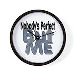 Perfect Man Wall Clock
